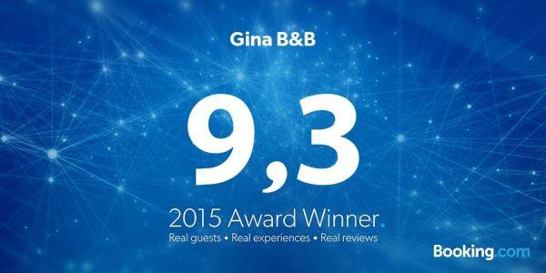 Gina Booking Award